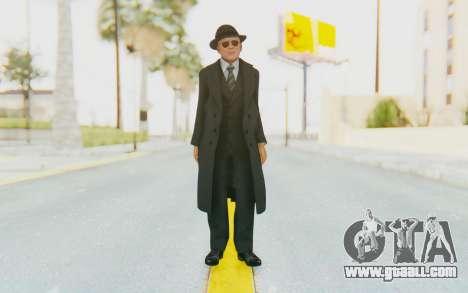 Mafia 2 - Jimmy Vendetta Black Suit for GTA San Andreas second screenshot