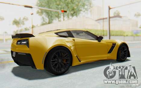 Chevrolet Corvette C7.R Z06 2015 for GTA San Andreas left view