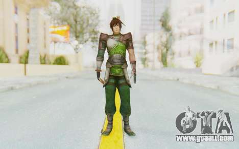 Dynasty Warriors 8 - Guan Su for GTA San Andreas second screenshot