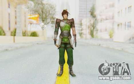 Dynasty Warriors 8 - Guan Su for GTA San Andreas second screenshot