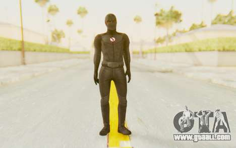 The Flash CW - Black Flash for GTA San Andreas second screenshot