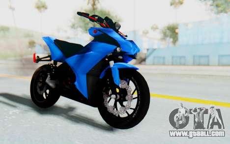 Yamaha Mx King 1000CC for GTA San Andreas right view