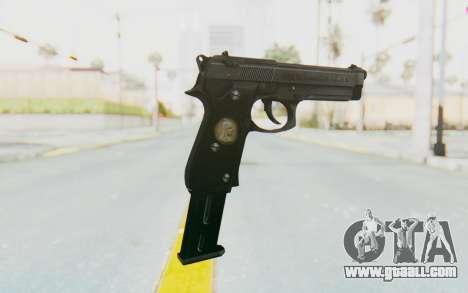 Tariq Iraqi Pistol Back v1 Black Long Ammo for GTA San Andreas second screenshot