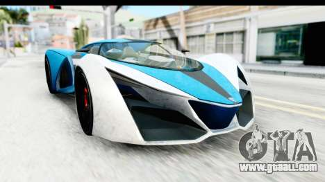GTA 5 Grotti X80 Proto IVF for GTA San Andreas