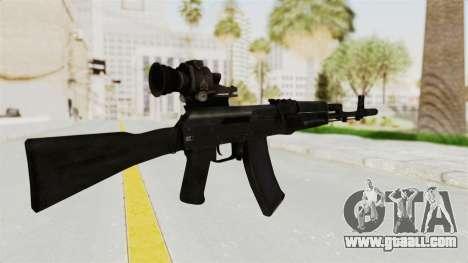 AK-74M v4 for GTA San Andreas second screenshot