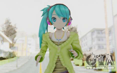 Autumn Breeze Miku for GTA San Andreas