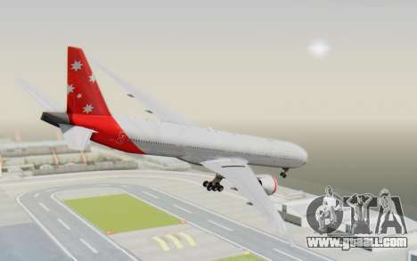Boeing 777-300ER Virgin Australia v1 HD for GTA San Andreas left view