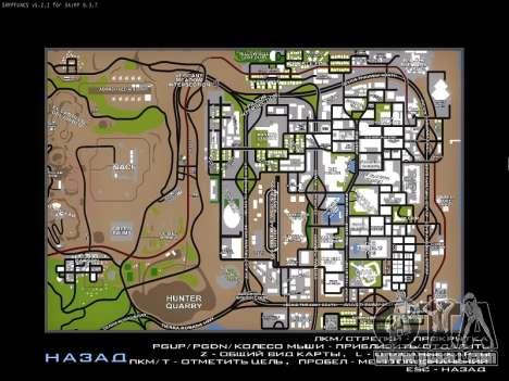 Map for SAMP for GTA San Andreas third screenshot