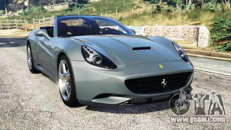 Ferrari California Autovista for GTA 5