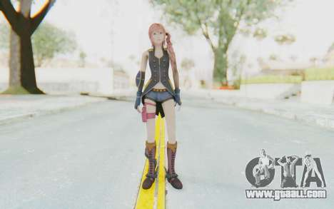 Final Fantasy XIII-2 - Serah Style and Steel for GTA San Andreas second screenshot