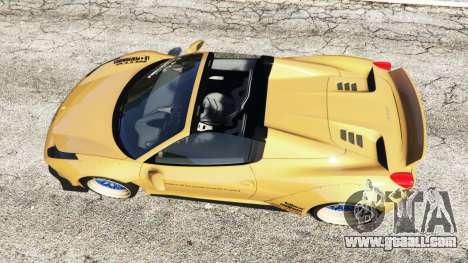 Ferrari 458 Spider [Liberty Walk] for GTA 5