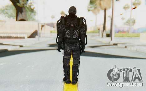 CoD Advanced Warfare Gideon for GTA San Andreas third screenshot