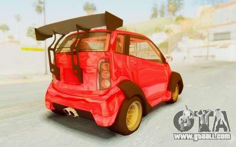 GTA 5 Benefactor Panto Custom for GTA San Andreas left view