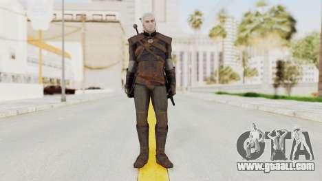 The Witcher 3: Wild Hunt - Geralt of Rivia for GTA San Andreas second screenshot
