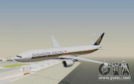 Boeing 777-300ER Singapore Airlines v1 for GTA San Andreas