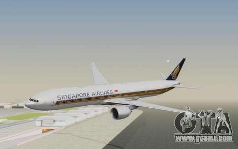 Boeing 777-300ER Singapore Airlines v1 for GTA San Andreas
