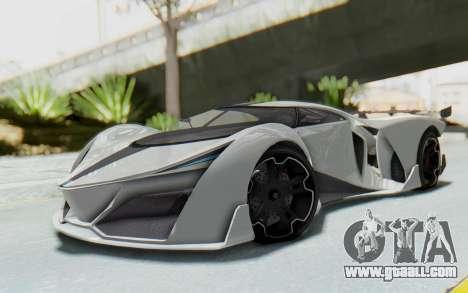 GTA 5 Grotti Prototipo v2 for GTA San Andreas