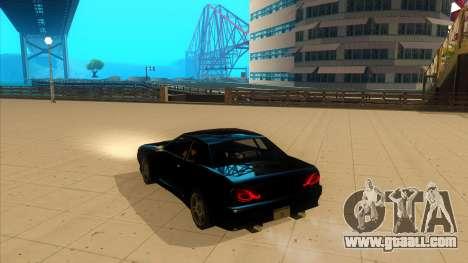 Elegy Bushido for GTA San Andreas left view