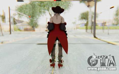 Eliza Skin for GTA San Andreas third screenshot
