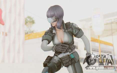 Ghost In The Shell First Assautl Motoko v1 for GTA San Andreas