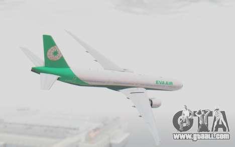 Boeing 777-300ER Eva Air v3 for GTA San Andreas left view