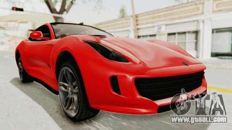 GTA 5 Grotti Bestia GTS v2 IVF for GTA San Andreas right view