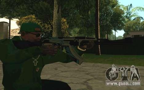 AK-47 Vulcan (SA) for GTA San Andreas forth screenshot