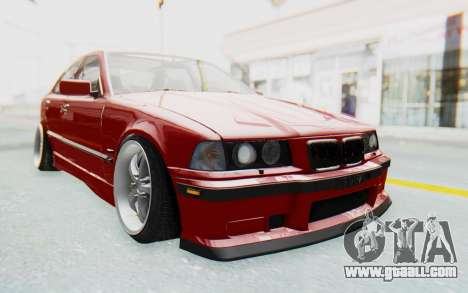 BMW M3 E36 2.5 TDS for GTA San Andreas back view