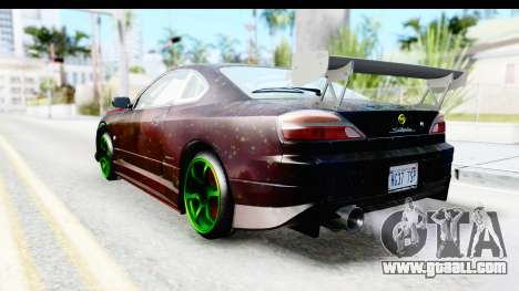 Nissan Silvia S15 Galaxy Drift v2.1 for GTA San Andreas left view