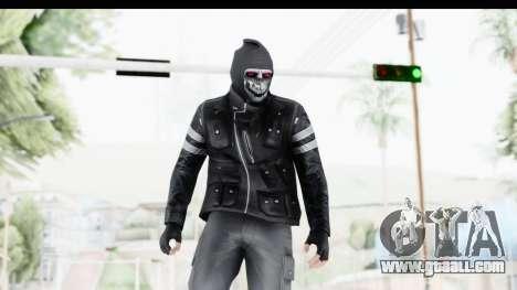 GTA Online Skin (Heists) for GTA San Andreas