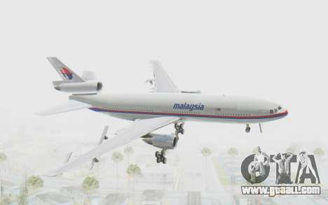 DC-10-30 Malaysia Airlines (Old Livery) for GTA San Andreas