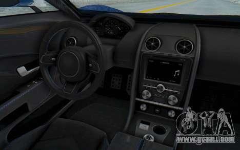 GTA 5 Vapid FMJ for GTA San Andreas inner view