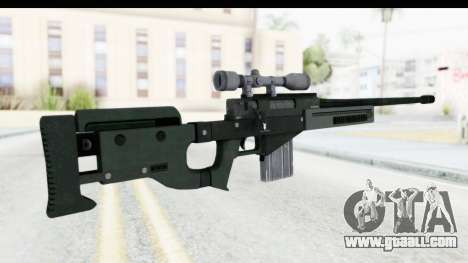 GTA 5 Shrewsbury Sniper Rifle for GTA San Andreas second screenshot