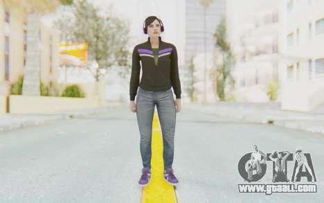 GTA Online Skin Female for GTA San Andreas second screenshot