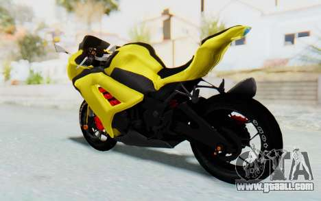 Kawasaki Ninja 250 Abs Streetrace v2 for GTA San Andreas left view