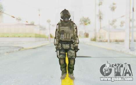 CoD AW US Marine Assault v1 Head A for GTA San Andreas second screenshot