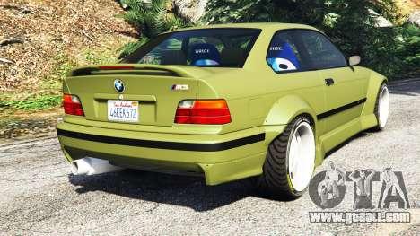 BMW M3 (E36) Street Custom v1.1 for GTA 5