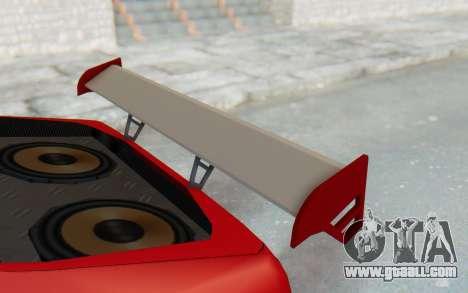 Elegy GT v1 for GTA San Andreas upper view
