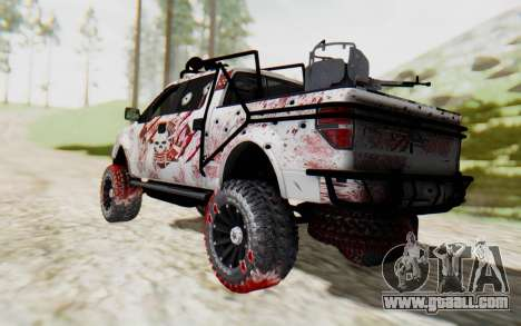 Ford F-150 ROAD Zombie for GTA San Andreas left view