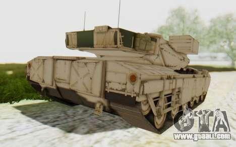 MGSV Phantom Pain M84A MAGLOADER for GTA San Andreas left view