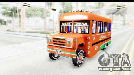 Dodge D600 v2 Bus for GTA San Andreas