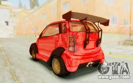 GTA 5 Benefactor Panto Custom for GTA San Andreas right view
