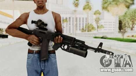 AK-74M v3 for GTA San Andreas third screenshot