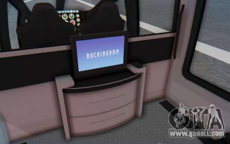 GTA 5 Buckingham Volatus v1 IVF for GTA San Andreas back view