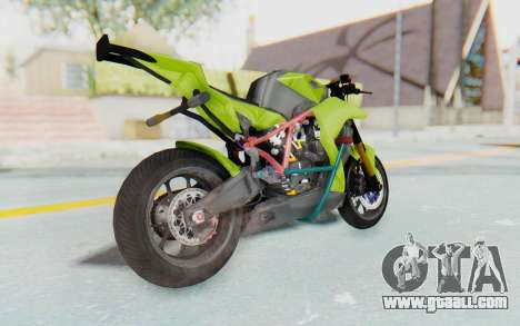 KTM 1190 R Stunter for GTA San Andreas left view