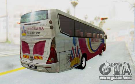 Marcopolo Inforana Bus for GTA San Andreas back left view