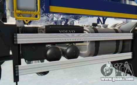 Volvo FMX 6x4 Dumper v1.0 Color for GTA San Andreas inner view