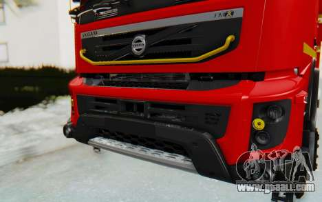 Volvo FMX 6x4 Dumper v1.0 for GTA San Andreas inner view