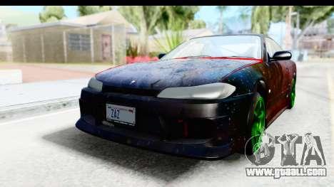 Nissan Silvia S15 Galaxy Drift v2.1 for GTA San Andreas