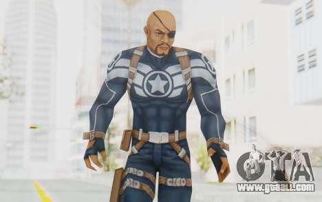 Marvel Future Fight - Nick Fury for GTA San Andreas